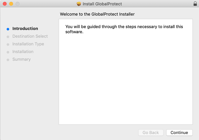 Install Global Protect